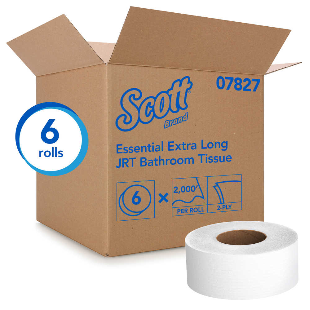 Scott 174 Essential Jrt Extra Long Bath Tissue