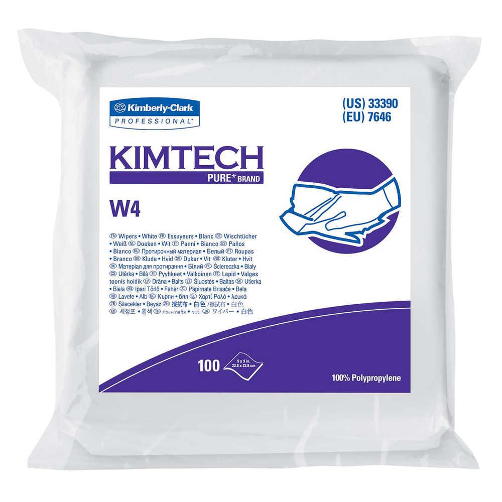 Kimtech Pure  W4 Dry Wipes 190e8fcb29