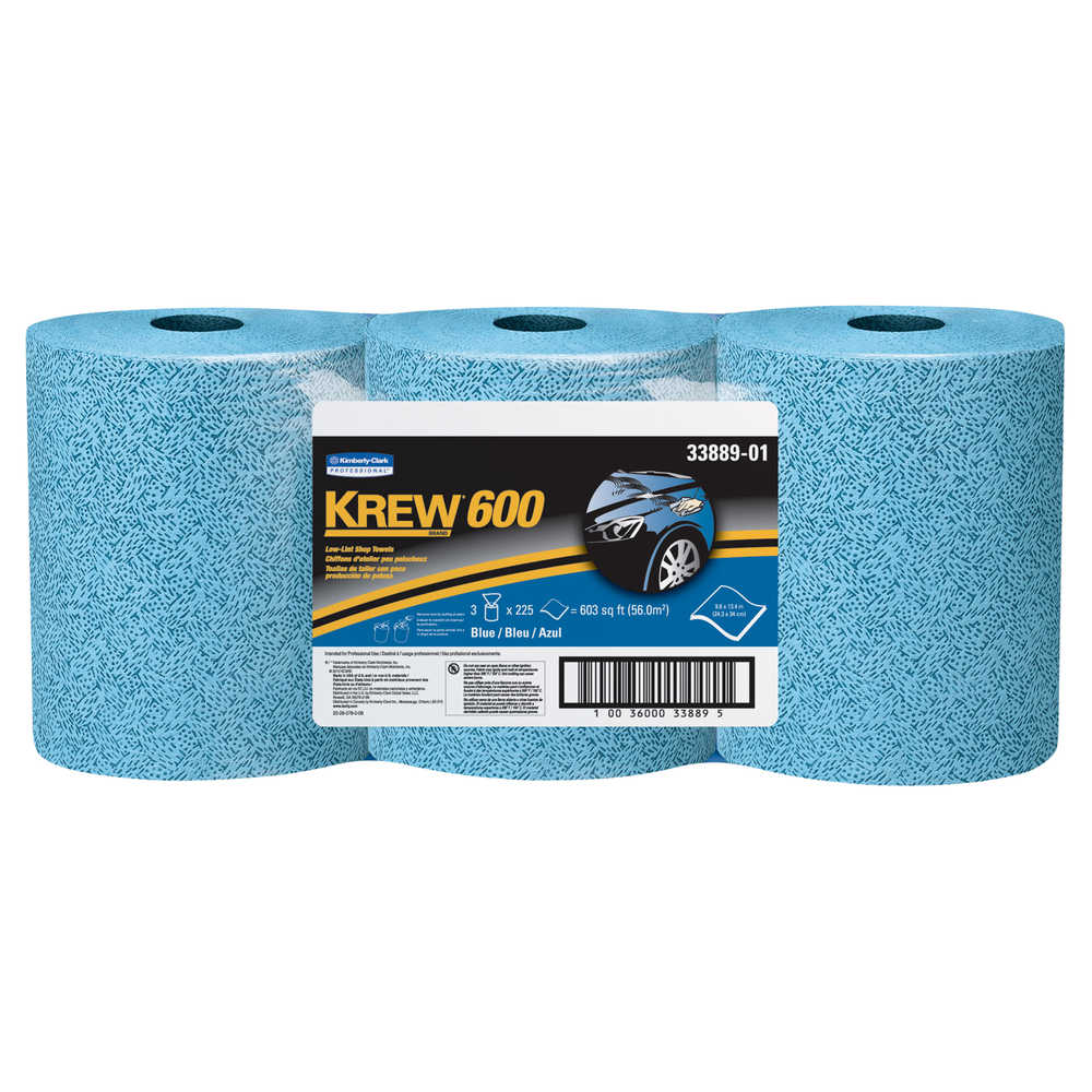 Scott Lint Free Paper Towels: Krew* 600 Low Lint Shop Towels