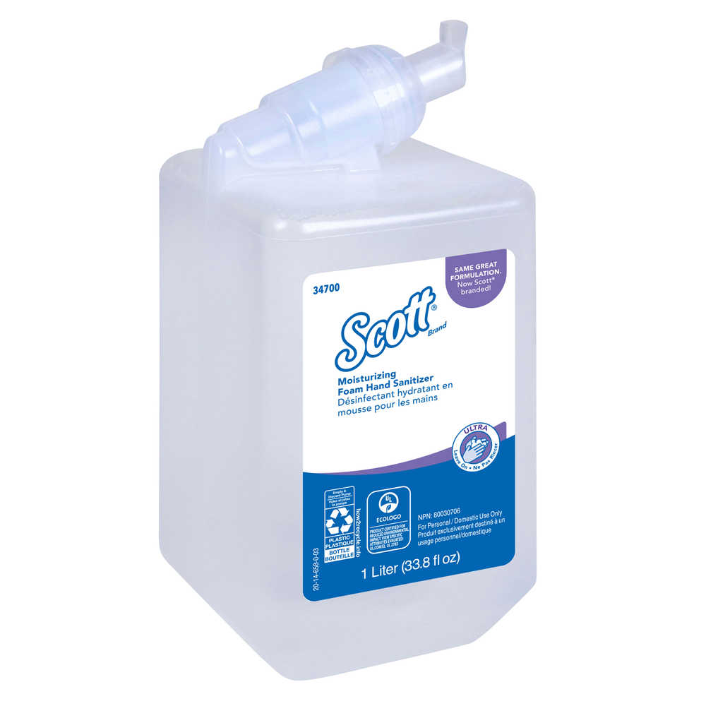 Scott Control Super Moisturizing Foam Hand Sanitizer