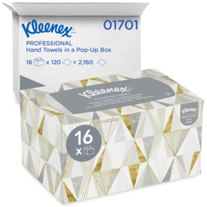 01701 - Kleenex® Hand Towels in a POP-UP Box