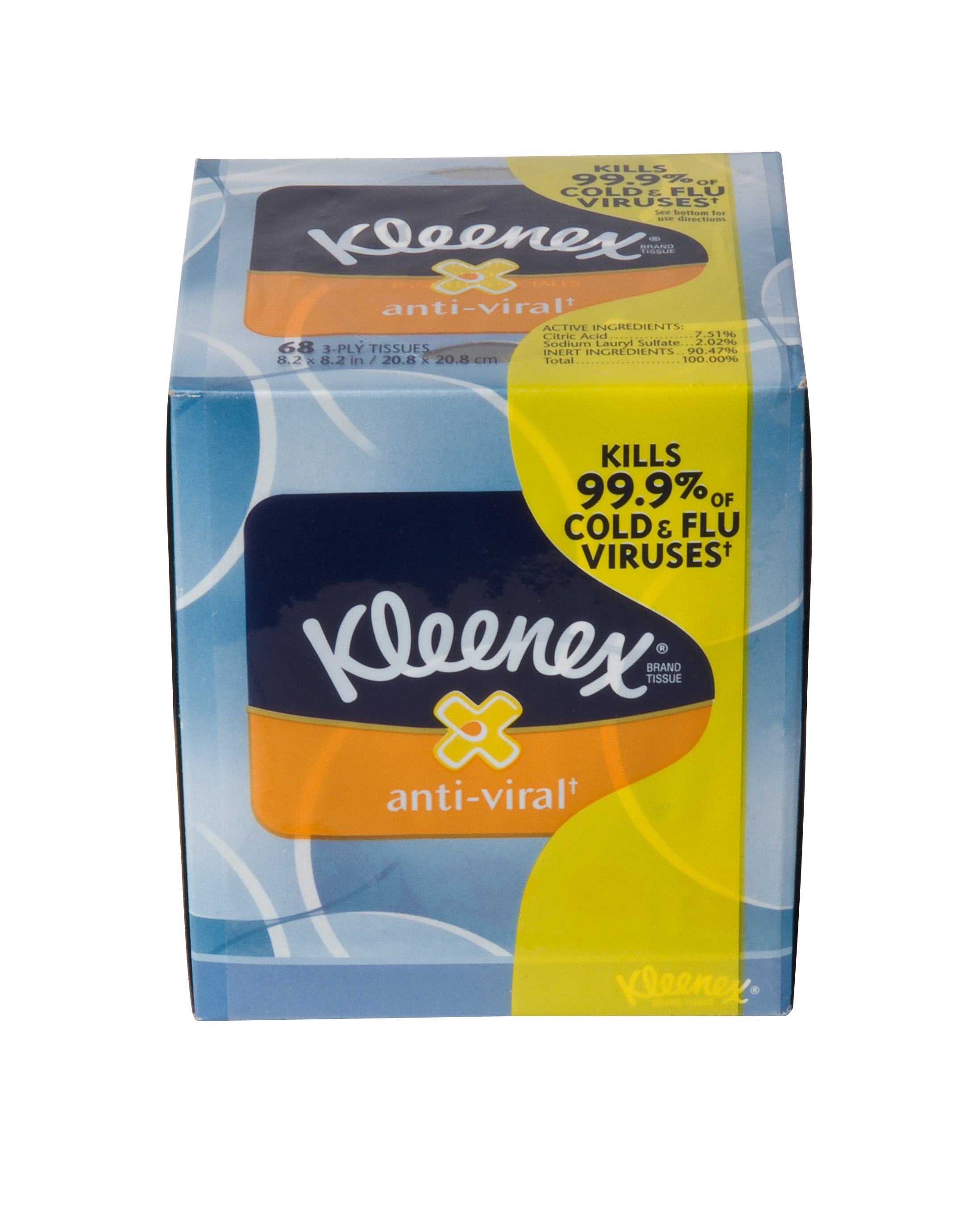 25836 - KLEENEX® BOUTIQUE Anti-Viral† Facial Tissue