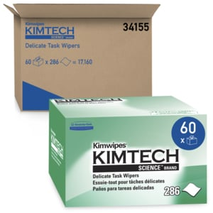 Kimtech Science Kimwipes Delicate Task Wipers - 280 Wipers