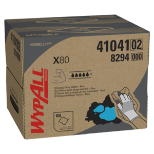 WypAll X80 Heavy-Duty Wipers - 160 Wipers