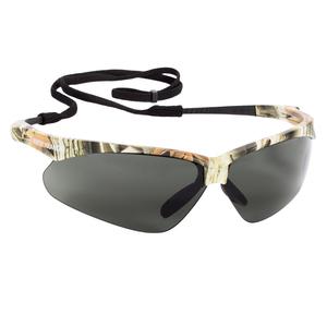 JACKSON SAFETY* 47417 V30 Nemesis* Polarized Safety Glasses, Polarized Smoke Lenses, Camo Frame
