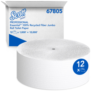 SCOTT® 100% Recycled Fiber JRT Jr. Bathroom Tissue