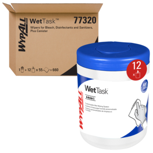 77320 - KIMTECH WETTASK Wipers for the Small WETTASK System