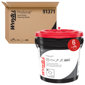Wypall Waterless Hand Wipes – 6 Buckets