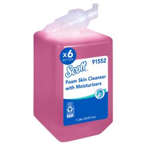 Kleenex Floral Foam Skin Cleanser - 1000 mL, Case