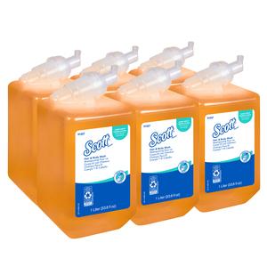 Kleenex Hair & Body Wash, Citrus Scent, 1000 mL
