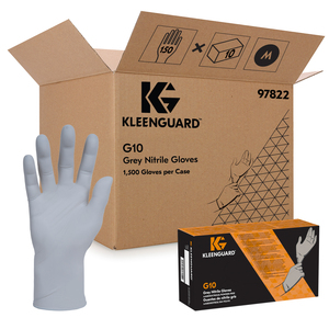 KleenGuard Nitrile Gloves - Medium, 150 Gloves