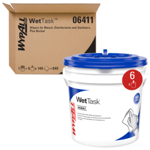 06411 - Kimtech® Prep Wipers For Bleach Disinfectants and Sanitizers